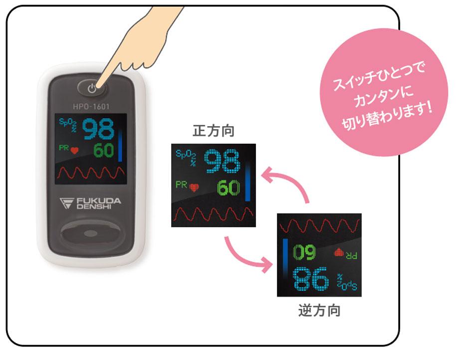 パルスオキシメータ HPO-1601